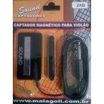 Captador Malagoli Sound Magnético P/ Violão - 2ab - Cp0082