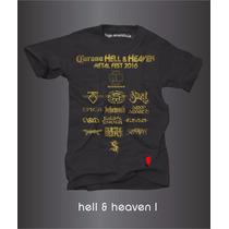 Playeras Corona Hell 6 Heaven Fest 2016 Rammstein Epica Pod