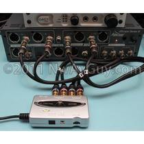 Placa De Audio - Behringer Uca - 202 Usb