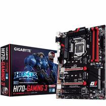 Motherboard Gigabyte Ga-h170 Gaming 3 Intel 1151 Skylake