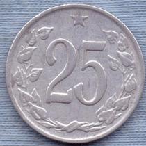 Checoslovaquia 25 Haleru 1962 * Republica Socialista *