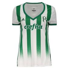 6d766c7af3fee Camisa Oficial Palmeiras Feminina 2017 - Futebol no Mercado Livre Brasil