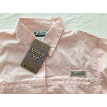 Camisa Mujer Columbia Talle M Color Rosa