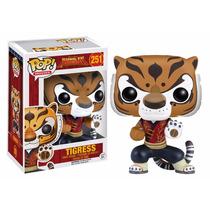 Tigresa Funko Pop Kung Fu Panda Tigress Tigre Pelicula Po