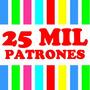Kit Imprimible 25000 Patrones Cajas Tarjetas Marcos Y Fondos
