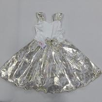 Vestido Infantil Festa Aniversário Ano Novo Reveillon