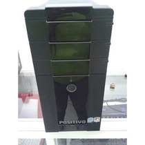 Pc Torre Dual 2gb Ddr2 Hd 80+ Brinde Leitor De Cartao Sd