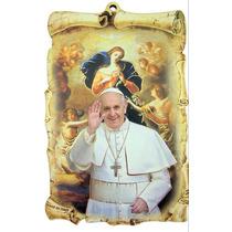 Placa De Maria Desatanudos Y Papa Francisco