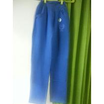 Pantalones De Algodon Pique O Frizado $ 360