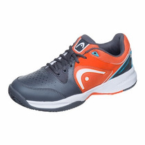 Zapatillas Head Tenis Revolt Team Grey/orange 0094