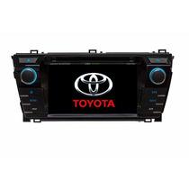 Dvd Central Multimídia M1 Toyota Corolla Hd Android Xei