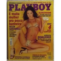 Revista Playboy Nº 302 Set/00 - Helen Ganzarolli