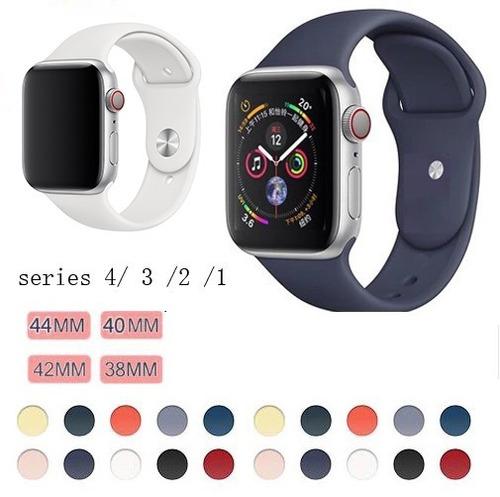 e4442f212e4 Pulseira Sport Para Apple Watch 38mm   42mm - R  34