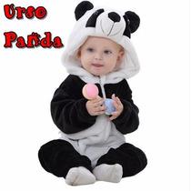 Macacão Fantasia Bebê Bichinho Tipo Parmalat Pronta Entrega