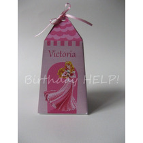 Aurora Bella Durmiente Princesas Souvenirs Golosineros