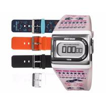 Relógio Mormaii Feminino Troca Pulseiras Fzpra8t
