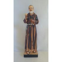 Imagens Santos Católicos Padre Pio 30 Cm