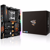 Placa Mãe Rampage V Edition 10 Asus Intel Lga 2011-3 Atx