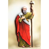 Quadro Catolico São Judas Tadeu Em Arte Francesa