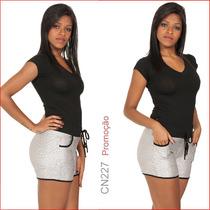 Shorts Social Two Way Tenho Hot Pants Gata Jeans Sawary 184