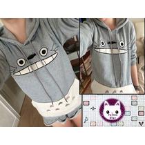Polera De Totoro Hombre Y Mujer Moda Kawaii Importado