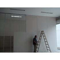 Instalação De Divisórias Eucatex E Drywall. Confira !!!