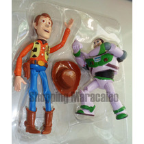 Toy Story Woody 19 Cm Buzz Lightyear 14 Cm Excelent Material