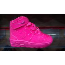 Nike Air Force Bota Cano Alto Infantil