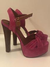 4d7cd6e4f Sandalias Arezzo 2013 Sapatilhas - Sapatos Rosa no Mercado Livre Brasil