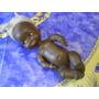 Antigua Muñeca Negra De Goma Rayito De Sol Mide 25 Cm.largo