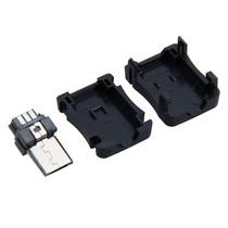 Conector Macho Micro Usb 10 Piezas