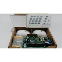 Alarma Paradox Sp4000 Kit 2 Pir Nv5 Y Teclado K636 Original!