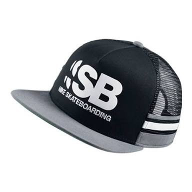 06889befcd60c Gorra Nike Sb Skate Board 100%original Visera Plana Azul -   369.00 ...