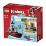 Lego Original Juniors El Tesoro Juguete Coleccion 10679