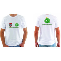 Camisa Personalizada Chapecoense Blusa Camiseta Corinthians