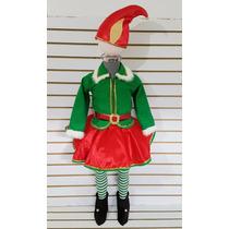 Disfraz Tutu Duenda Duende Para Niña Con Mallas Niña Navidad