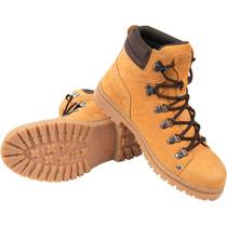 Bota De Trilha Mostarda Yellow Tamanho Grande 45 46 47 48