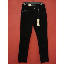 Jeans Pantalon Levis Negro Skinny Stretch Casual Urbano
