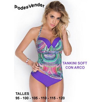 Tankini 2017 Armada C/ Taza Soft Talles Grandes Y Especiales