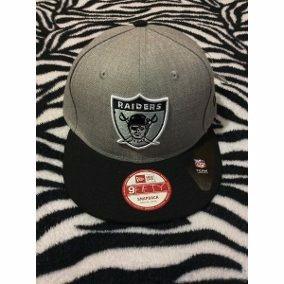 Gorra Raiders Negra Con Gris Talla G New Era -   80.00 en Mercado Libre 029262f9903