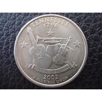 U. S. A. - Tennessee, Moneda D 25 Centavos (cuarto) Año 2002