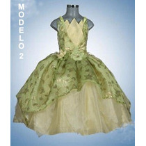 Disfraz/vestido Tiana,la Princesa Y El Sapo Oferta Talla 12