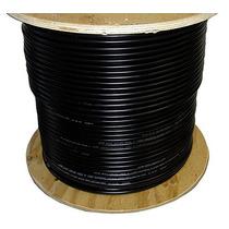 Cable Coaxial Rg6 Negro Por Metro