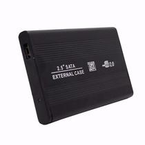 Case Gaveta Hd Sata Externo 2.5 Usb Notebook Pc Tv + Capa