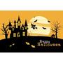 Painel Decorativo Festa Infantil Halloween Dia Bruxas (mod2)