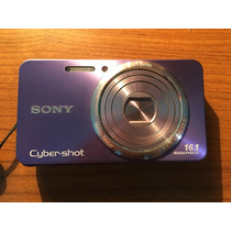 Camara Digital Sony Cybershot Dsc-w570 16.1 Mpx Violeta