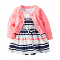 Vestido Saco Carters Nena Bebe Nuevo Hermosos