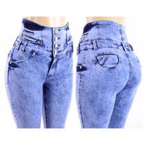 Kit Atacado 5 Calças Jeans Femininas E Mais 1 Short