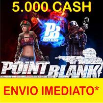 Cartão Point Blank 5k - 5.000 Cash Envio Imediato! Br