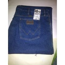 Pantalon Jean De Caballero Wrangler 100% Original Talla Gran